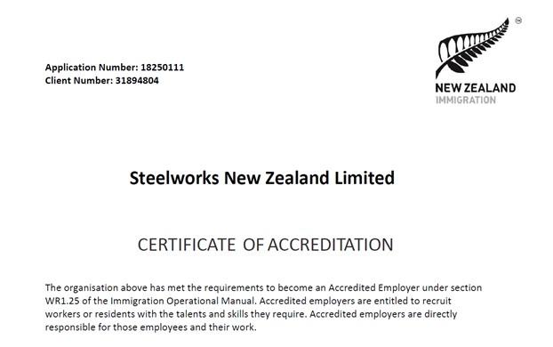 INZ Accreditation