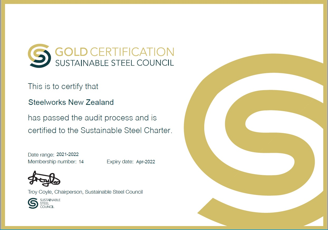 SSC Gold Certificate